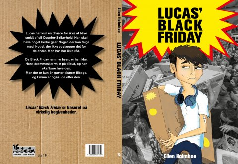 Lucas' Black Friday Omslag